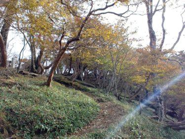 日本100名山 奈良の「八経ヶ岳」。