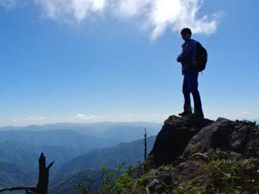 奈良県「釈迦ヶ岳・大日岳」