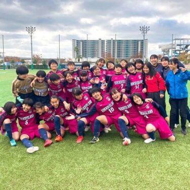 「六甲アイランド高校女子サッカー」快進撃👊